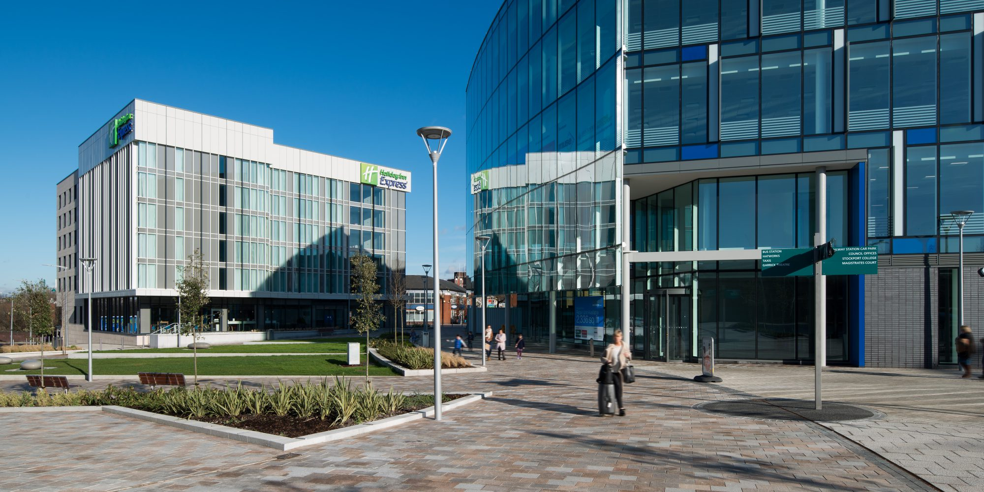 Offices in Stockport Exchange