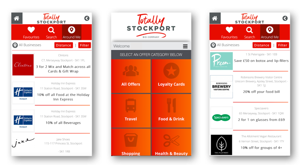 Totally Stockport App