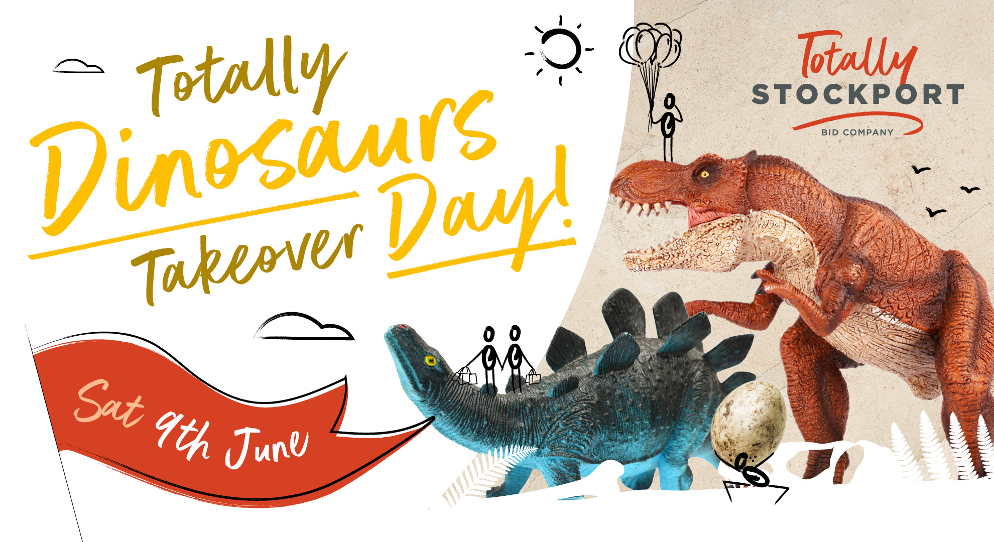 Dinosaur Day in Stockport