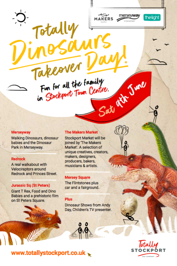 Dinosaurs Day out in Stockport