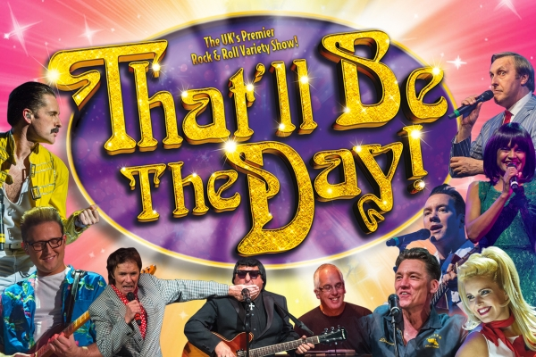 THAT'LL BE THE DAY returns to The Stockport Plaza in the very heart of Stockport on Mersey Square on Sunday 28thOctober with another BRAND NEW SHOW!