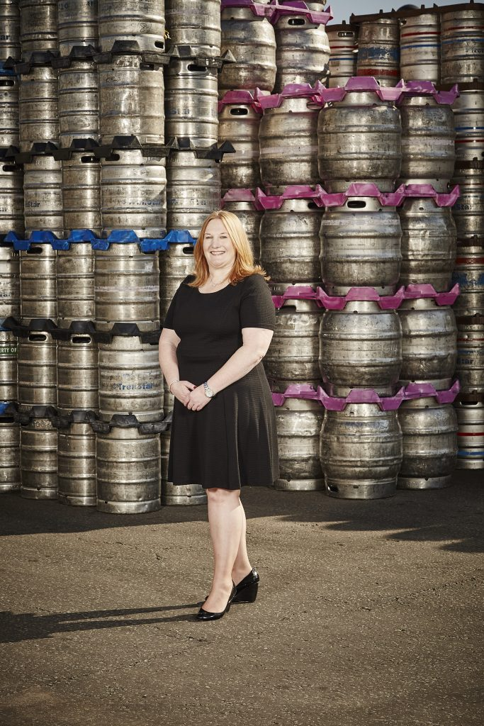 Veronica Robinson, Director of Stockport's BID and Director at Robinsons Brewery
