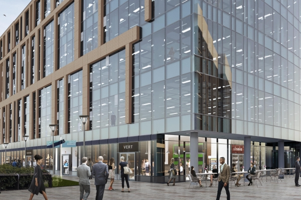 Construction company appointed for 2 Stockport Exchange