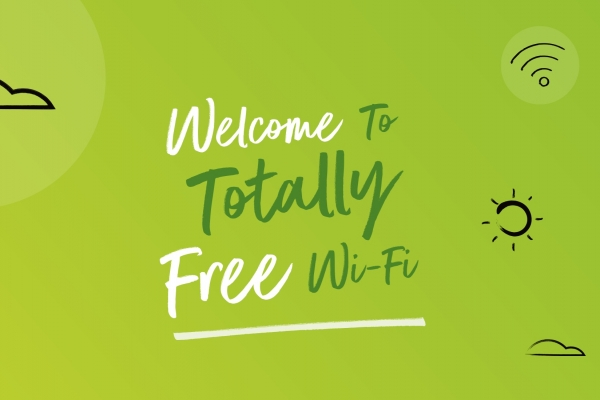 Totally free WiFi in Stockport