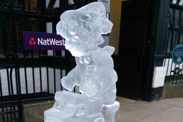 Stockport's Ice Sculpture Trail