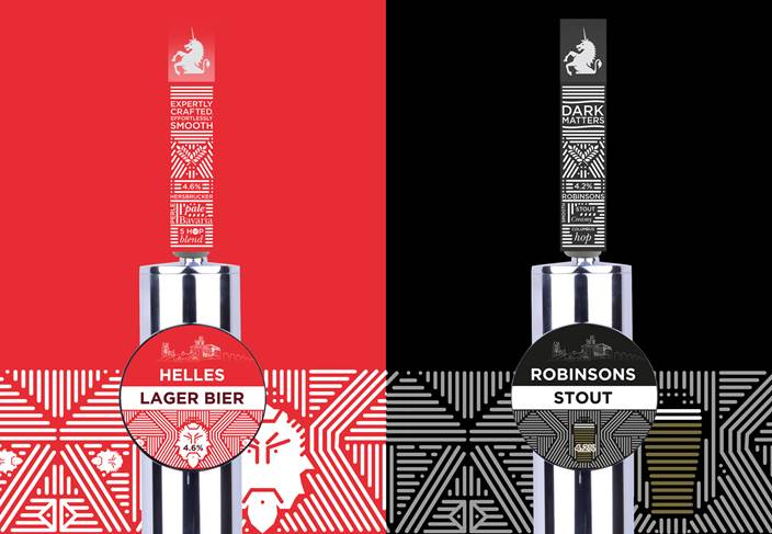 Robinsons brewery launch new keg beers - Helles Lager and Robinsons Stout