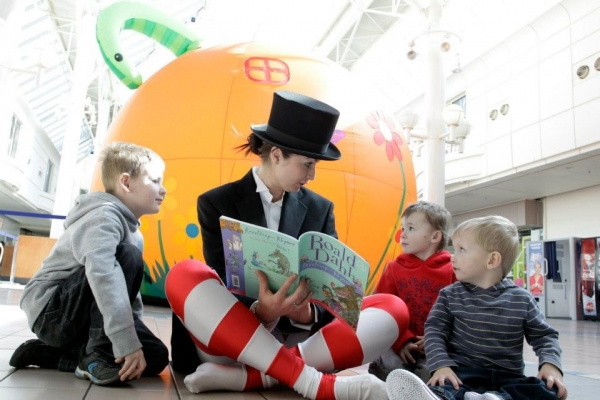 Story Time at Merseyway this Saturday, 9th Feb