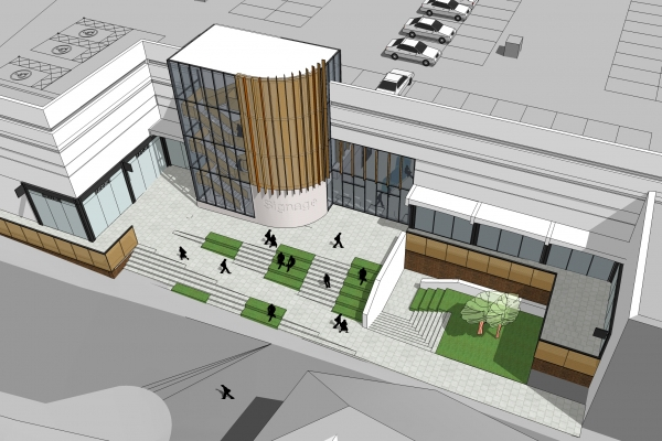 The consultation events will focus on the first stage of the centre's redevelopment - the refurbishment of Adlington Walk.