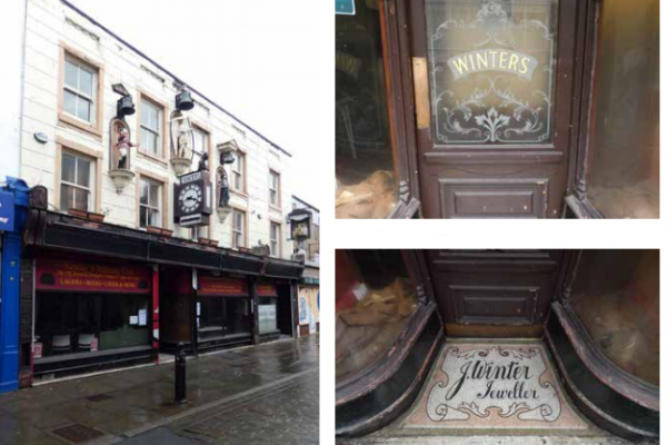Former Winters Wine Bar and Jewellers building to receive upgrade from Stockport Council