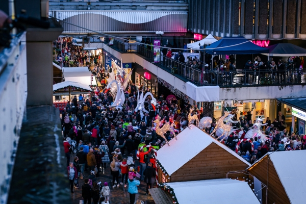 Merseyway's Winter Wonderland Experience brings thousands into Stockport