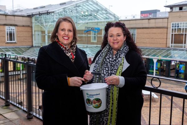 Merseyway raise £1600 for charity partner Independent Options
