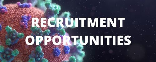 Coronavirus recruitment opportunities