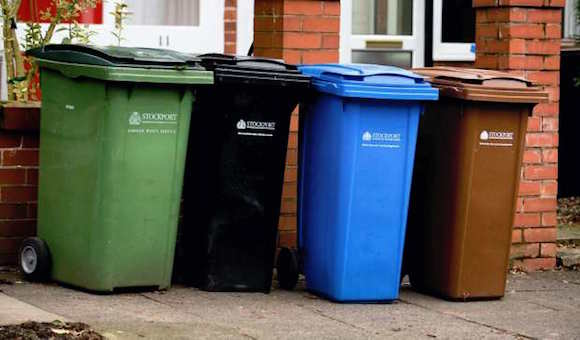 Stockport bin collection changes