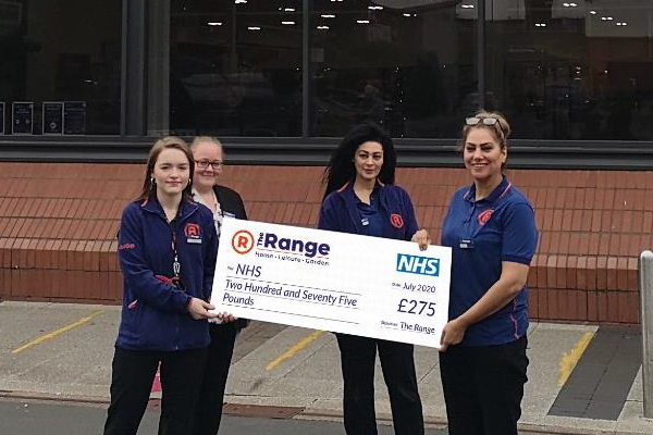 Retail chain raises over £50,000 for the NHS