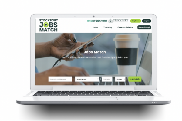 Stockport Jobs Match adds training opportunities and career guidance to new look website for local jobseekers