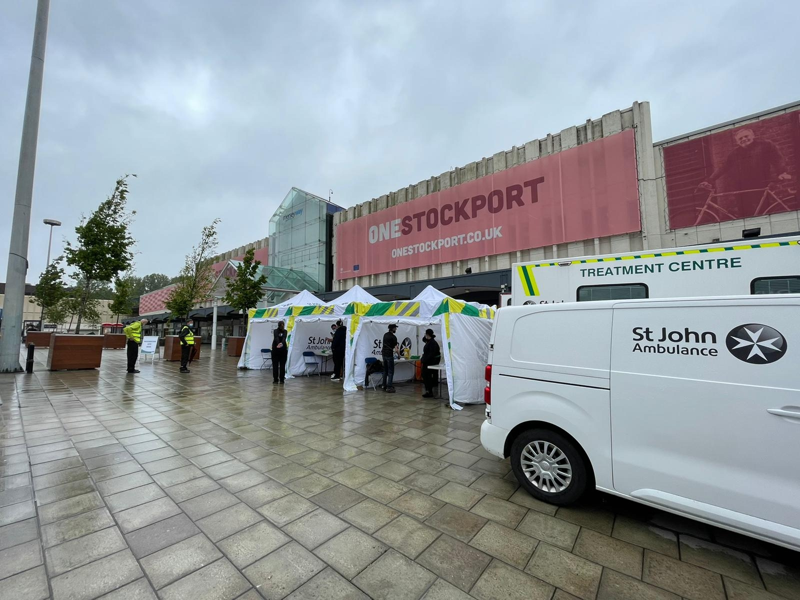 Pop-up vaccination site returns to Mersey Square 28th and 29th May